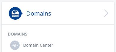 1&1 Domain Center