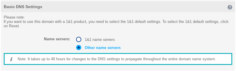 Other name servers