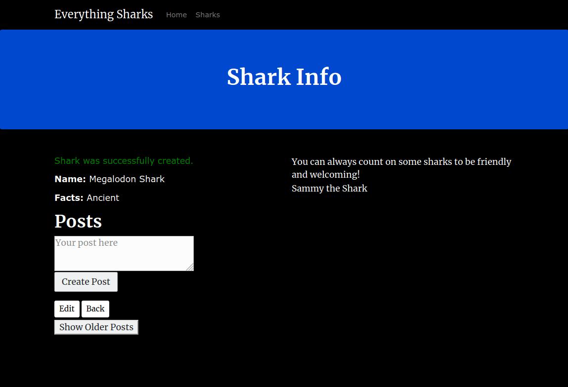 Shark Output