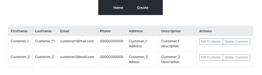 How To Build a Customer List Management App with React and