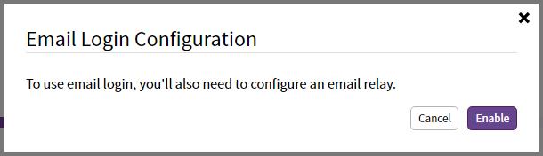 Sandstorm E-mail (passwordless)
