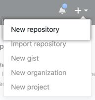 Github-new-repository