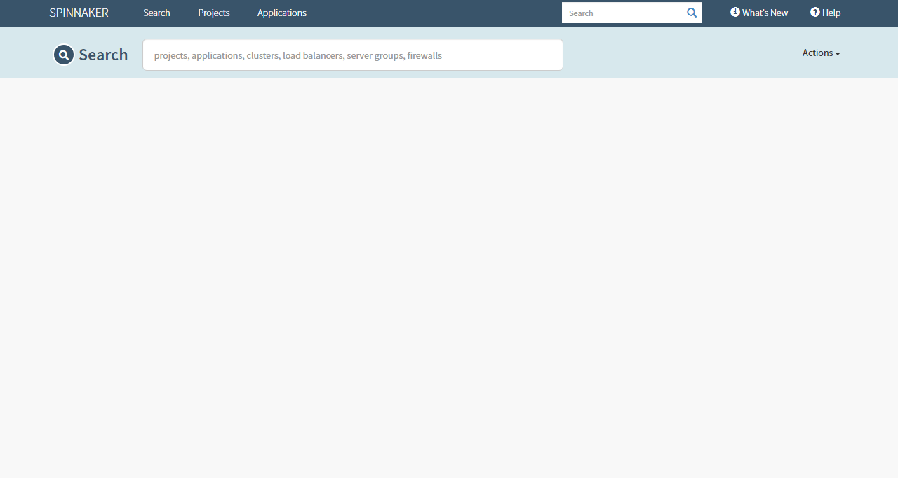 Spinnaker's home page