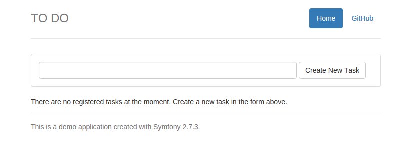 Symfony To-Do App Preview