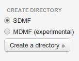 Tahoe-LAFS create directory