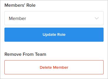 delete member