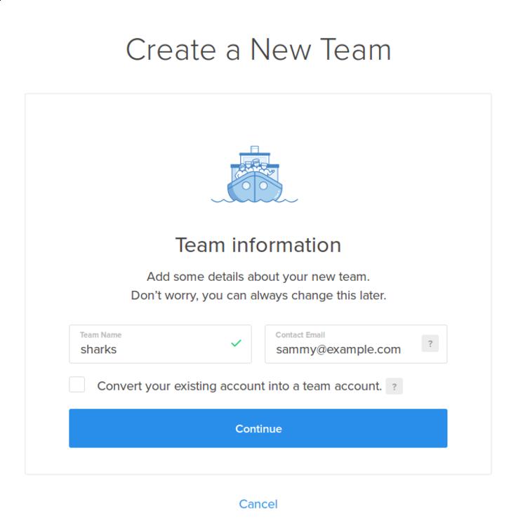 Create Team