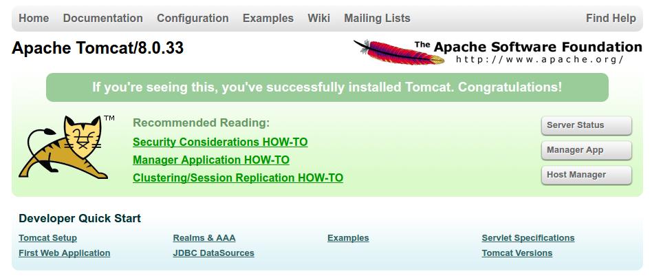 Làm thế nào để cài đặt Apache Tomcat 8 trên Ubuntu 16.04