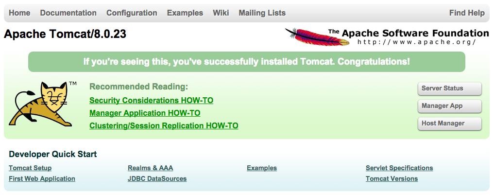 Tomcat root