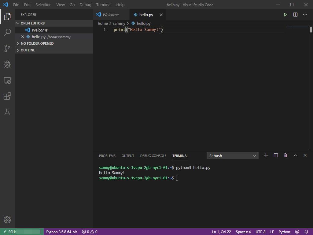 Executing your Python Script