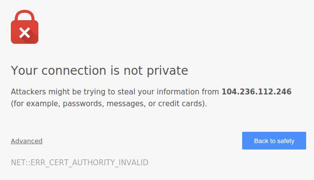 web2py SSL warning