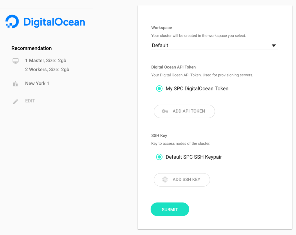 DigitalOcean provider overview