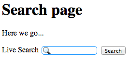 YaCy embedded search