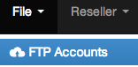ZPanel FTP Accounts