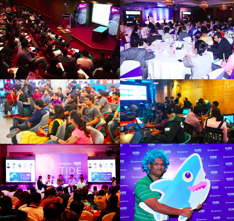 India events picture collage