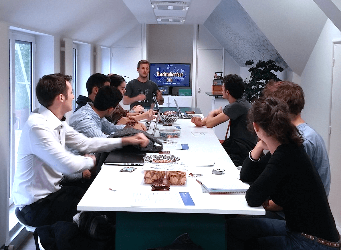 Hacktoberfest Paris Meetup by Sigfox
