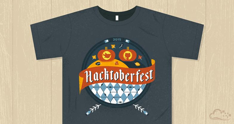 Hacktoberfest Shirt 2015