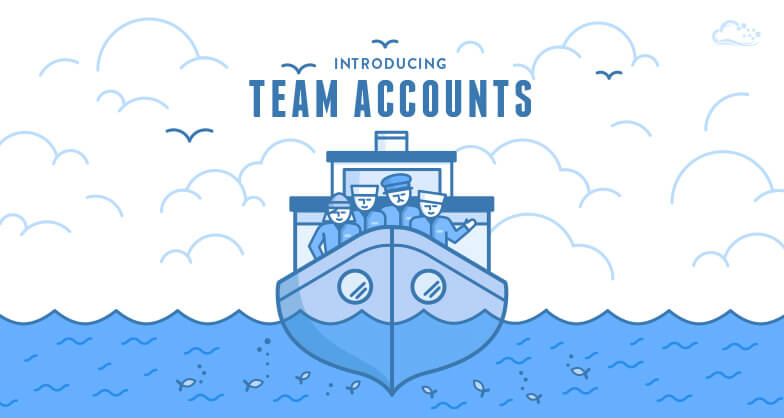 team accounts share resources not passwords