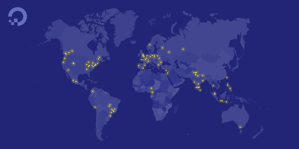 HF Events Map