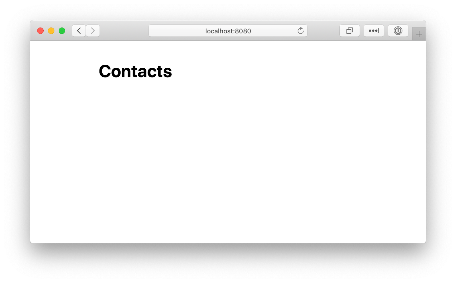 Creating a Simple Contacts List with Go and PostgreSQL