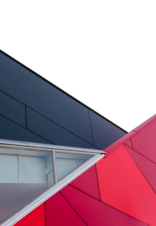 Shape outside polygon
