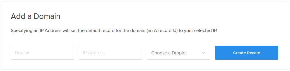 add a domain