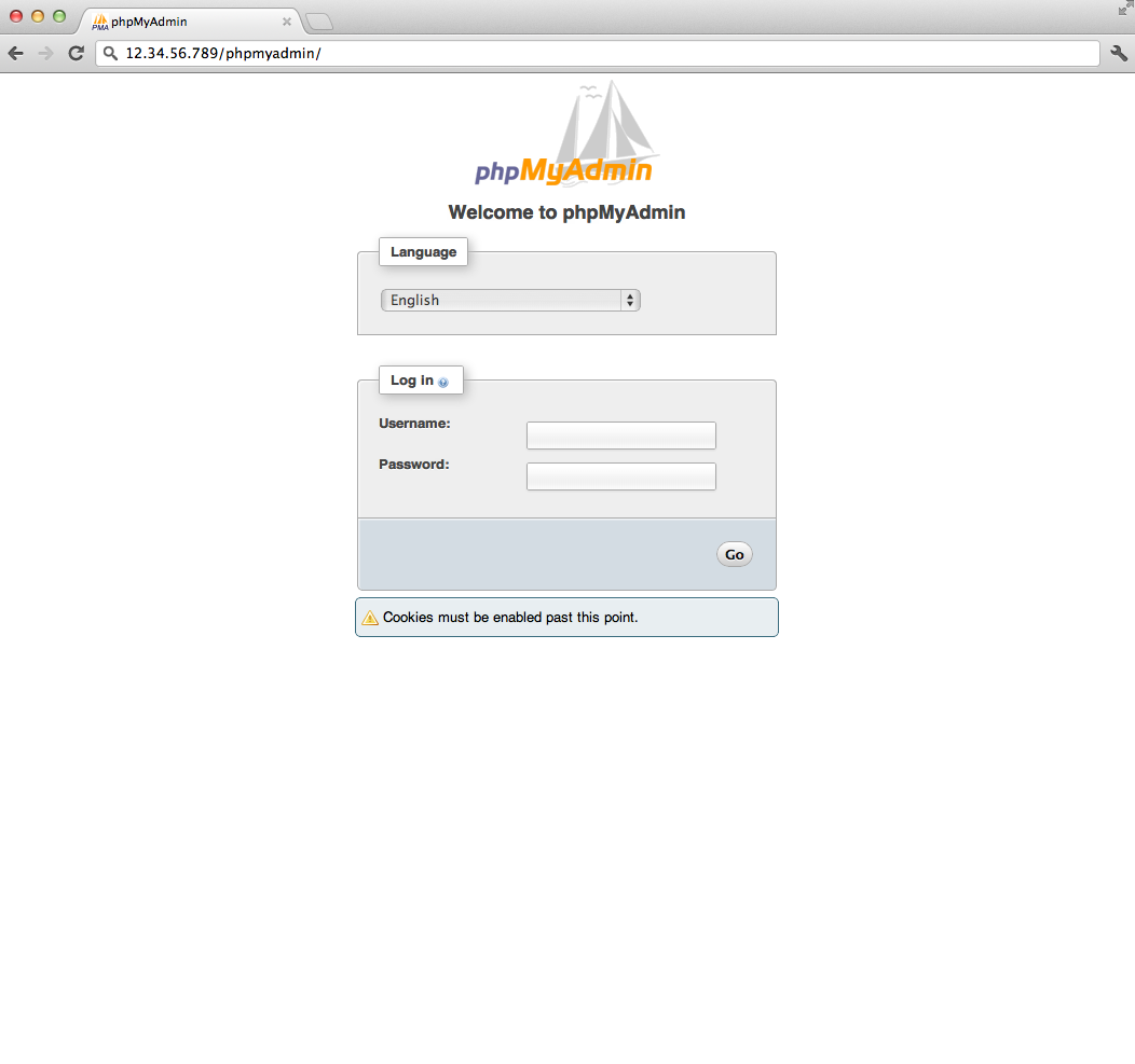 how to run phpmyadmin on ubuntu