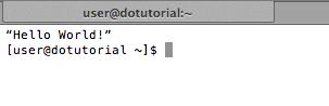 Test script running