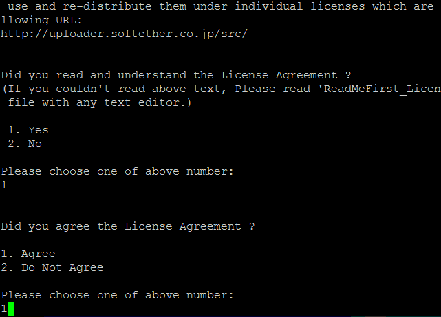 SoftEther License Agreement